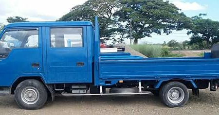 2007 Isuzu Canter Elf 4d32 Double Cab Npr with Power Lifter For Sale