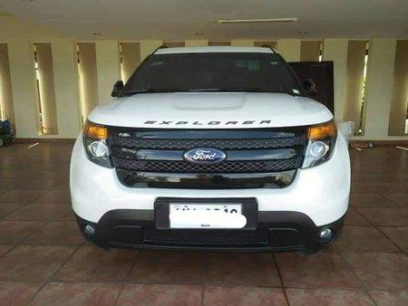2015 Ford Explorer sport automatic transmission