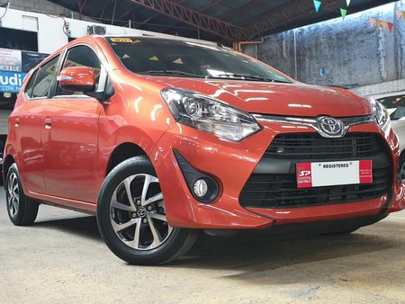 2018 Toyota Wigo 1.0 G for sale