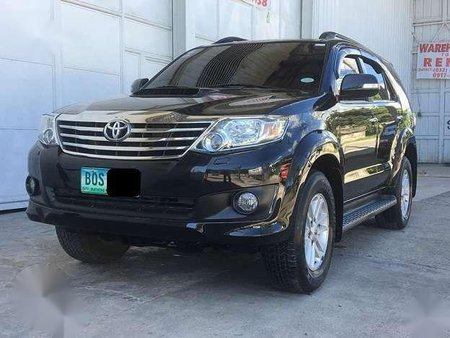 2013 Toyota Fortuner V series TOP OF THE LINE 1ST Owned