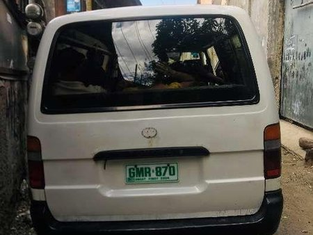 2001 Toyota Hiace Commuter good condition