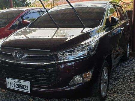 2017 Toyota Innova 2.8G Manual Diesel Blackish Red 985k Only
