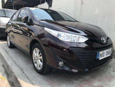 2019 Toyota Vios 1300E Automatic Blackish Red_rab