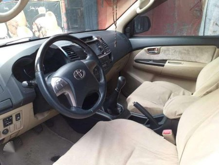 2014 Toyota Fortuner G manual 4x2 for sale
