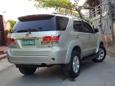 2007 Toyota Fortuner Diesel Fuel Automatic transmission