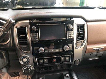 2019 NISSAN TITAN Platinum Reserve 5.0L DOHC V8 Turbo DIESEL Pick up
