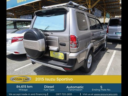 2015 Isuzu Sportivo for sale