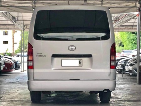 2015 Toyota Hiace Commuter MT Diesel for sale