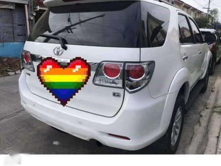 2012 Toyota Fortuner G for sale
