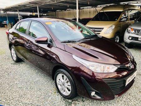 Selling 2nd Hand 2019 Toyota Vios Automatic at 5500 Km