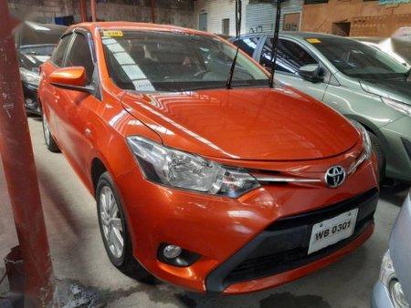 Selling Orange Toyota Vios 2017 Manual Gasoline in Marikina