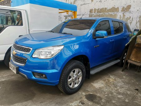 Selling 2014 Chevrolet Trailblazer Manual at 44000 km