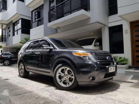 Selling 2nd Hand Ford Explorer 2014 Automatic Gasoline in Quezon City