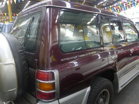 Selling Used Mitsubishi Pajero 2001 at 110000 km in Quezon City