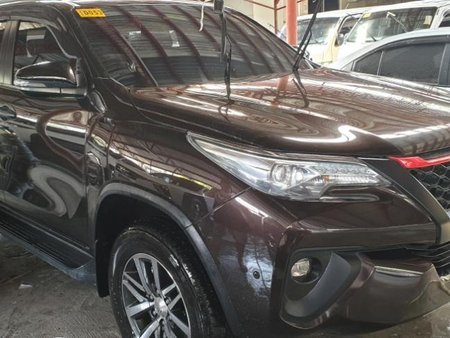 Brown Toyota Fortuner 2018 Automatic Diesel for sale in Quezon City