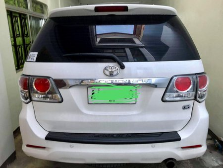 Toyota Fortuner G 2014 Model A/T for sale