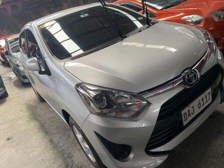 Silver Toyota Wigo 2019 for sale in Manual