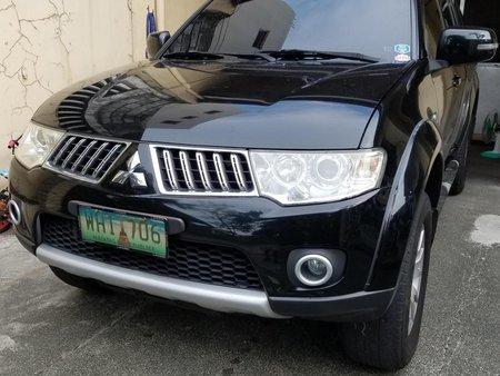 Black Mitsubishi Montero 2013 for sale in Parañaque