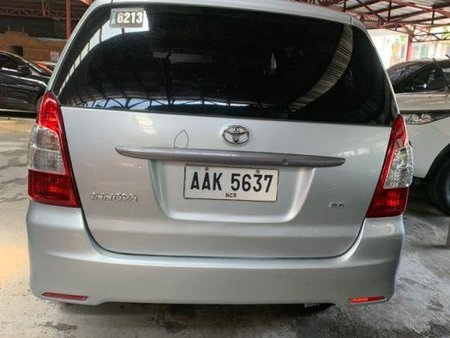 Silver Toyota Innova 2014 Manual Diesel for sale in Quezon City