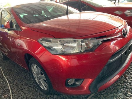 Red Toyota Vios 2017 for sale in Quezon City