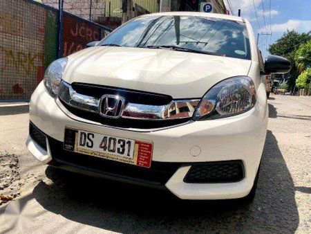 Sell 2nd Hand 2016 Honda Mobilio at 16000 km in Manila