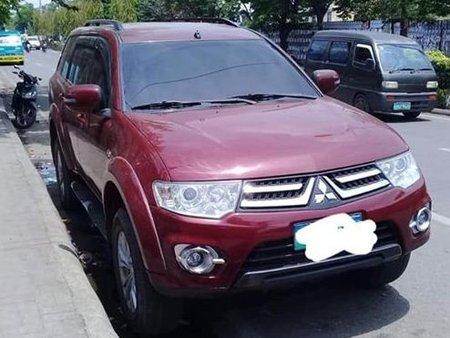 Sell Red 2014 Mitsubishi Montero in Cebu City