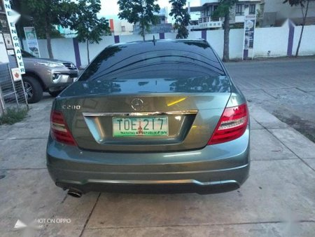 Selling Mercedes-Benz C200 2012 Automatic Gasoline in Santa Rosa