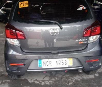 Gray Toyota Wigo 2018 Manual Gasoline for sale in Marikina