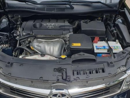 Black Toyota Camry 2015 Automatic Gasoline for sale in Quezon City