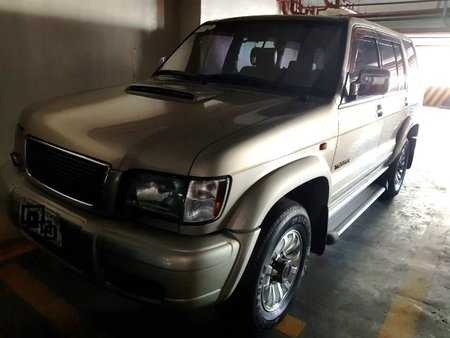 2002 Isuzu Trooper Automatic Beige at 50000 km for sale in Pasig