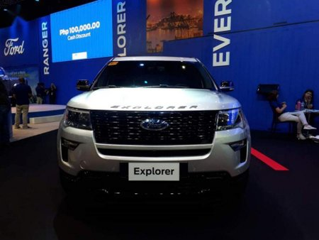 Brand New Ford Explorer 2019 Automatic Gasoline for sale in Meycauayan