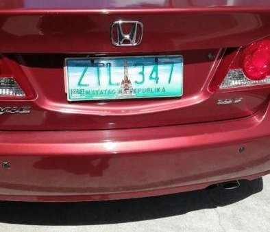 Selling 2nd Hand Honda Civic 2008 in Quezon City