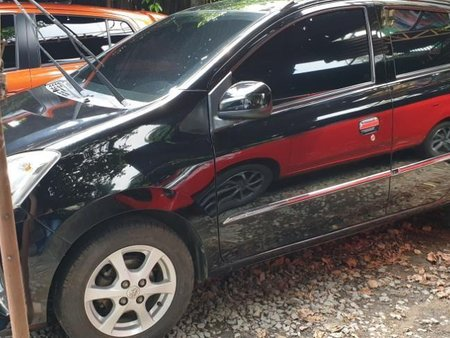Sell Black 2014 Toyota Wigo at 20000 km in Quezon City