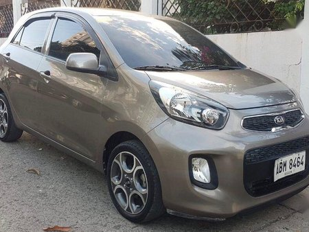 Selling Kia Picanto 2015 Automatic Gasoline in Cebu City