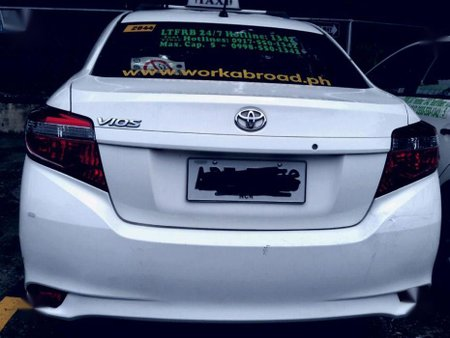 Selling Toyota Vios 2016 Manual Gasoline in Marikina