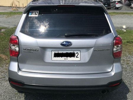 Sell 2nd Hand 2014 Subaru Forester Automatic Gasoline at 28000 km in Pasig
