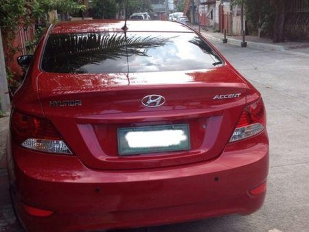 Selling 2nd Hand Hyundai Accent 2012 in Quezon City