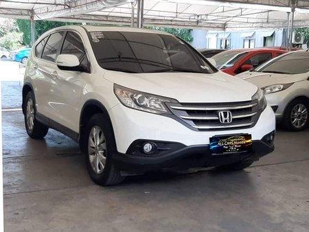 Sell White 2012 Honda Cr-V Automatic Gasoline in Makati