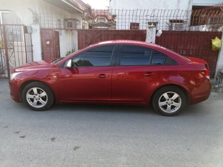 Selling Red Chevrolet Cruze 2012 at 60000 km in Parañaque