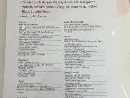 Brand New Honda BR-V 2018 km for sale