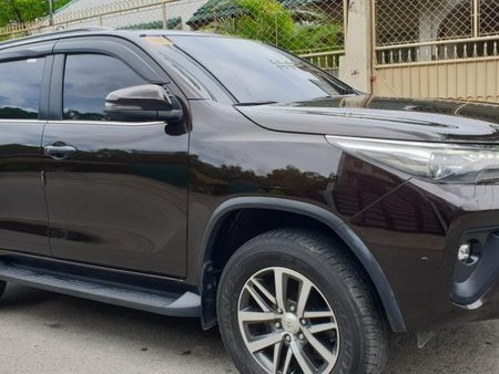 Brown Toyota Fortuner 2018 at 30000 km for sale in Quezon City