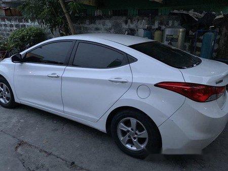 Selling White Hyundai Elantra 2012 at 108000 km in Manila