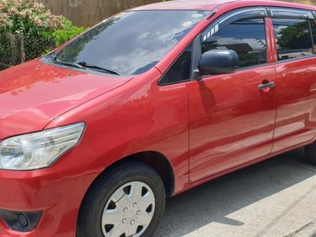 Sell Red 2016 Toyota Innova at Manual Diesel at 20000 km in Quezon City