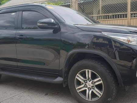 Sell Black 2018 Toyota Fortuner at 10000 km in Quezon City