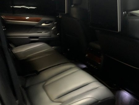 Black 2018 Lexus Lx at 3000 km for sale in Makati