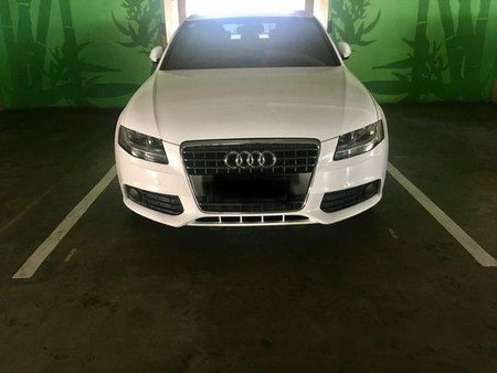 White Audi A4 2009 Automatic for sale