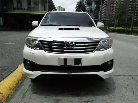 Sell Used 2014 Toyota Fortuner at 46000 km in Pasig