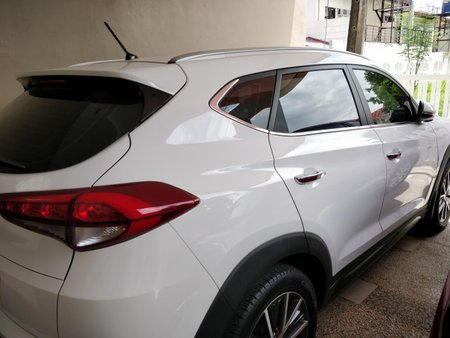White 2016 Hyundai Tucson for sale in Metro Manila