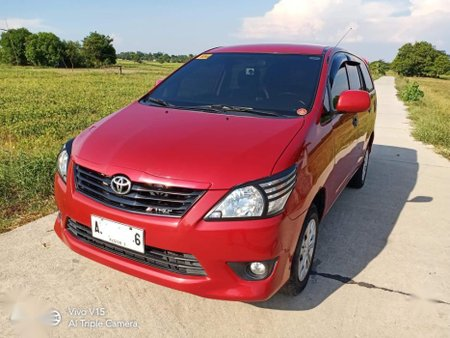2nd Hand Toyota Innova 2014 Manual Diesel for sale in Lubao