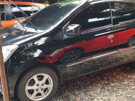 Black Toyota Wigo 2014 Automatic Gasoline for sale in Quezon City